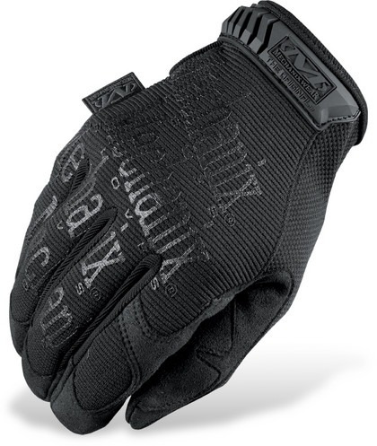 guantes mechanix wear original mechanix tela negro mate lg