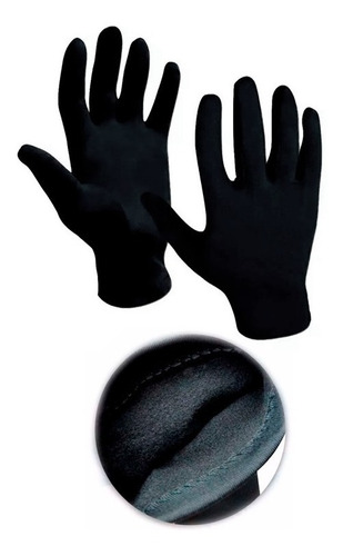 guantes + medias 1ra piel tubo + medias abrigo + cuello sti
