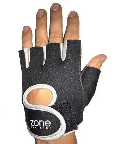 guantes medio dedo neoprene grip pesca bici gris cuotas