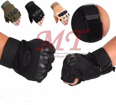 guantes mitones tacticos militares oakley