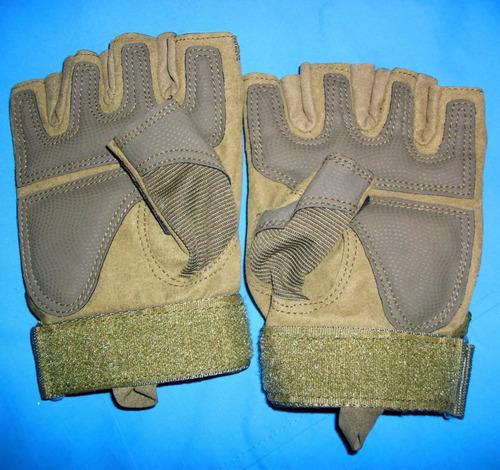 guantes mitones tacticos militares policiales oakley.