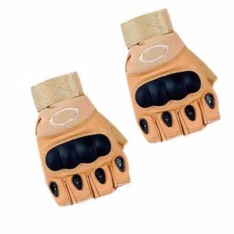 guantes mitones tacticos militar/moto/deportes/gym