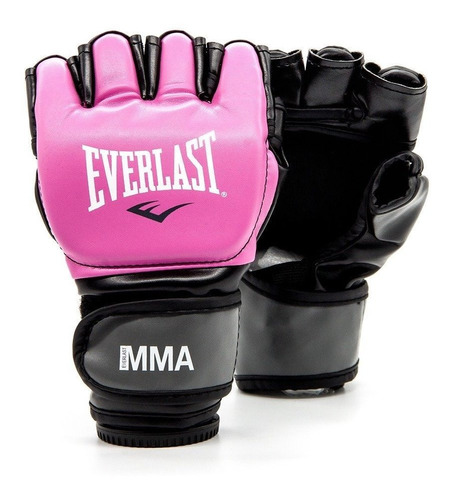 guantes mma everlas color rosado pink 100% original