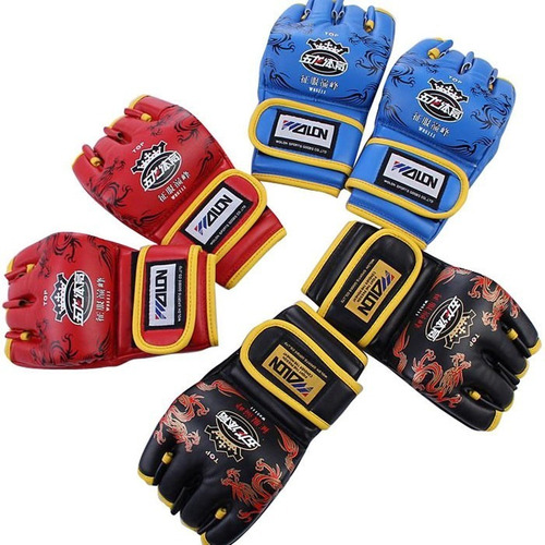 guantes mma ufc profesionales wolon