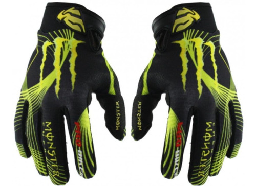 guantes monster, probiker, rock star  touch