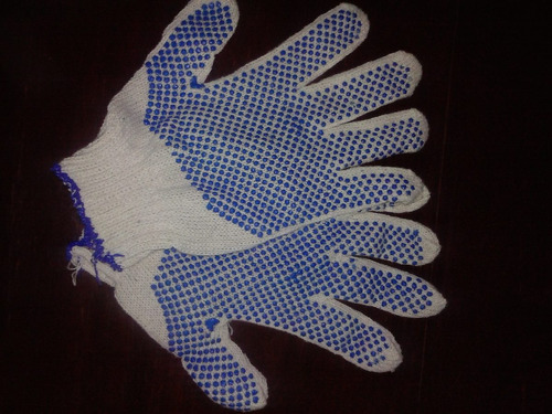 guantes moteados 1ra. calidad