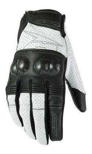 guantes moto axo pro race con protecciones. en gravedadx