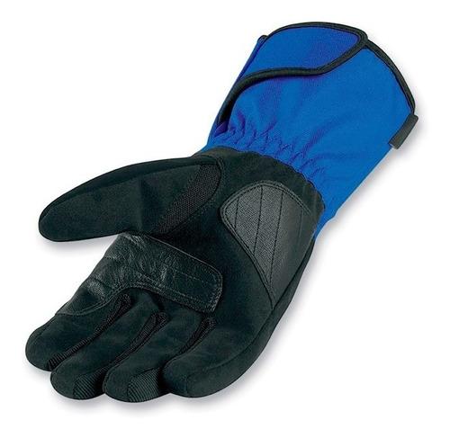 guantes moto icon de proteccion impermeables 100% original