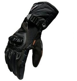 d3aa60be Guantes Moto Impermeable Termicos Táctiles Negros Talla M
