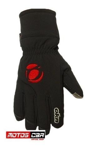 guantes moto neoprene okn frio viaje  motoscba