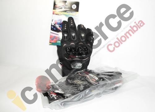 guantes moto para