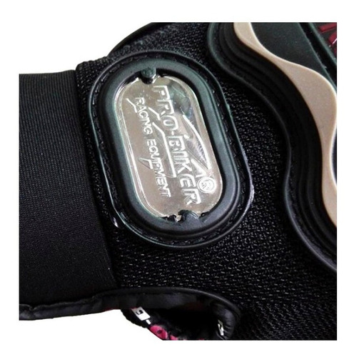 guantes moto pro-biker medio dedo ciclismo motociclista