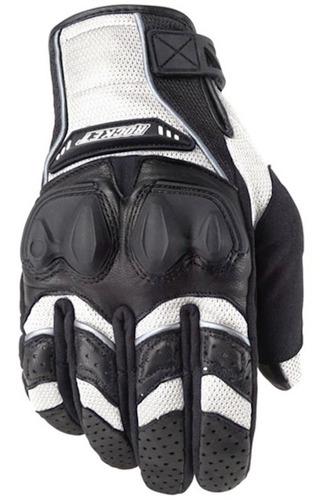 guantes moto proteccion joe rocket phoenix 4.0 blancos