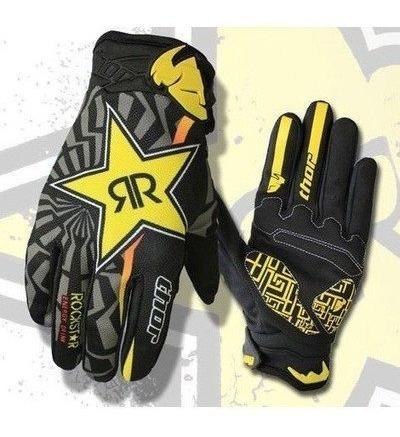 guantes moto rock star thor xtreme version