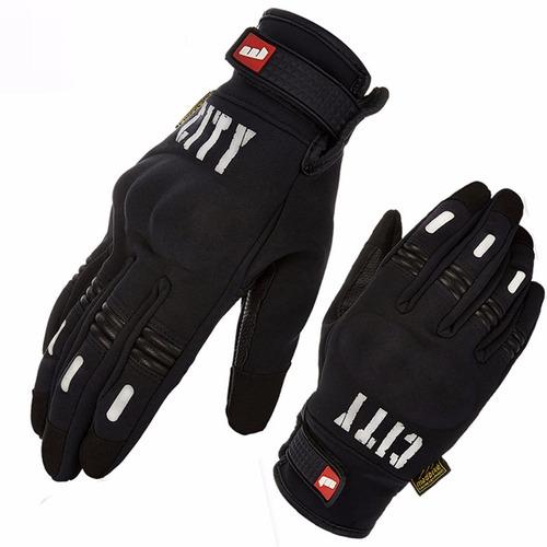 guantes moto suomy city tactil termicos promocion