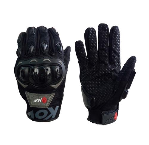 guantes motociclista kov
