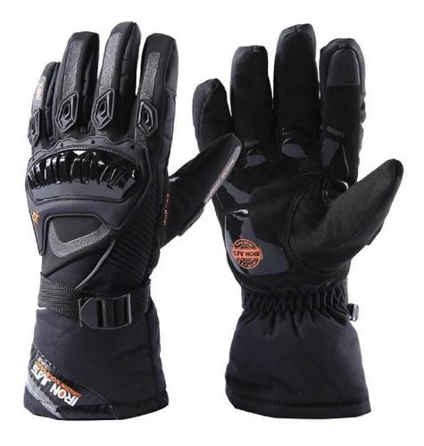 guantes motociclista para invierno frio impermeables