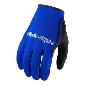Guantes Motocross Troy Lee  Xc Azul