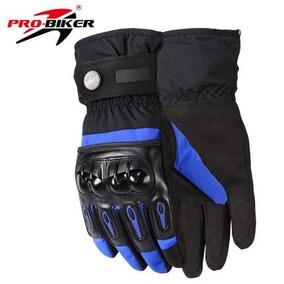04fc1ac7299 Guantes Impermeables Azules Pro Biker Touch Envio Gratis