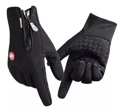guantes motos neoprene tacticos + polar termicos cierre fas!