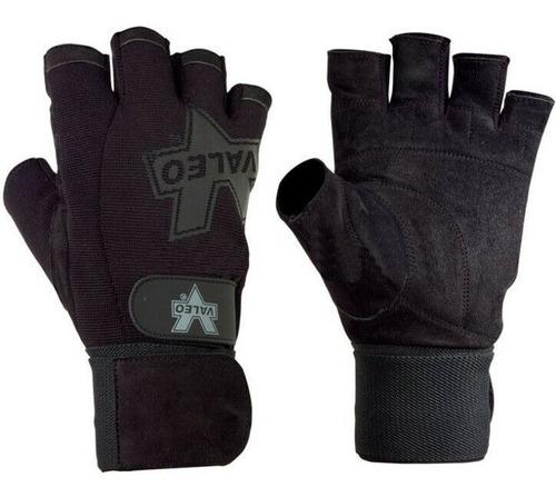 guantes muñequera para gym crossfit pesas valeo performance