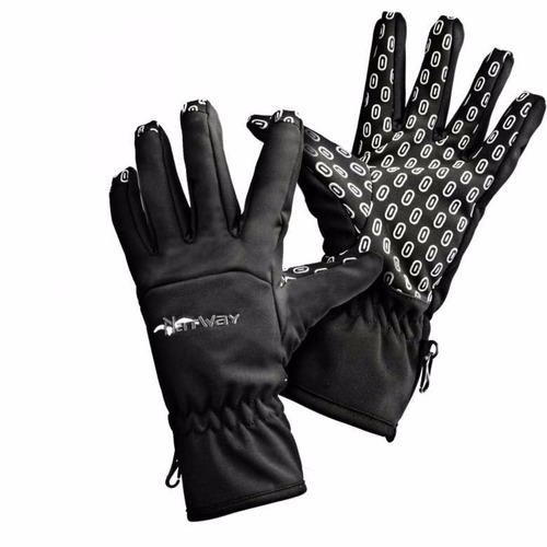guantes natway soft shell neoprene impermeable ski trekking