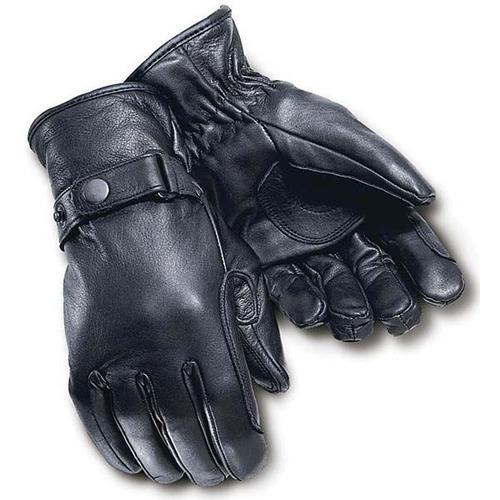 guantes negros tourmaster custom, peso mediano, xs