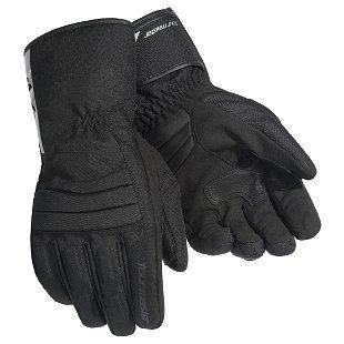 guantes negros tourmaster media-tex, md de hombre