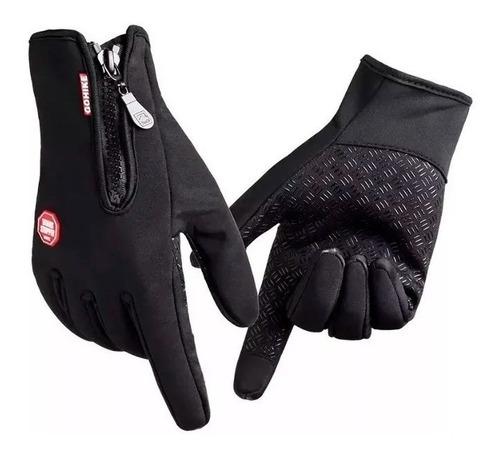 guantes neoprene dedo tactil termicos impermeables sti full