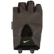 guantes nike gym fundamental training gris verde original