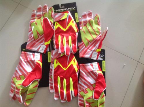 guantes nike vapor fly  rojos talla xl