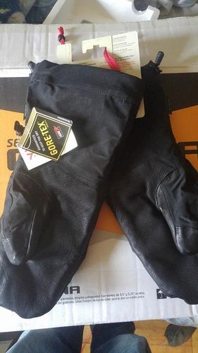 guantes north face goretex mountain guide mitt l nuevos!!