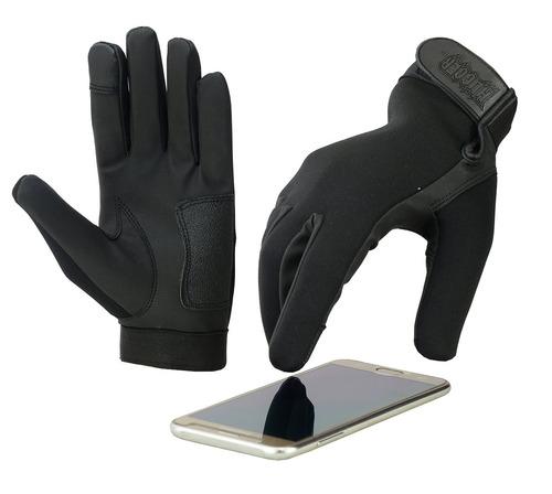 guantes nuevos de la motocicleta de la policía de la pantall