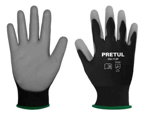 guantes nylon rec. poliuretano m pretul 20030