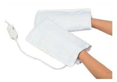 guantes o mitones calefactores de manos, parafinoterapia