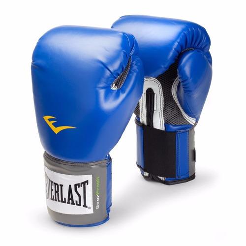 guantes originales de box everlast + funda de regalo! boxeo