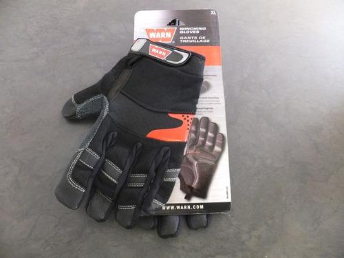 guantes originales warn para uso de winch jeep razor atv 4x4
