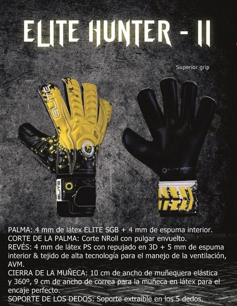 02b3c8b92ffad Guantes Para Arquero Elite Hunter 2 - Niños -   205.000 en Mercado Libre