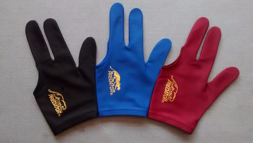guantes para billar predator