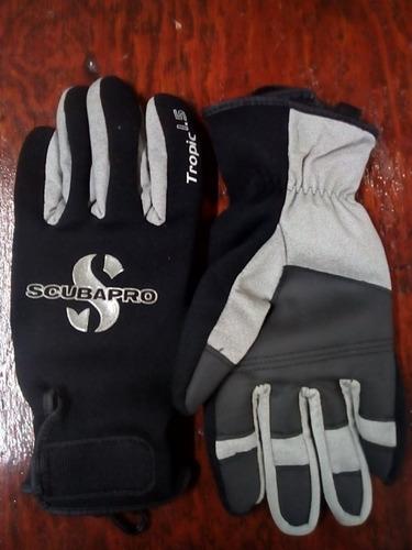 guantes para buceo