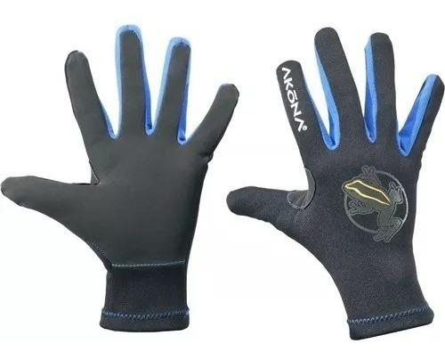 guantes para buceo akona reef apnea pesca submarina talla l