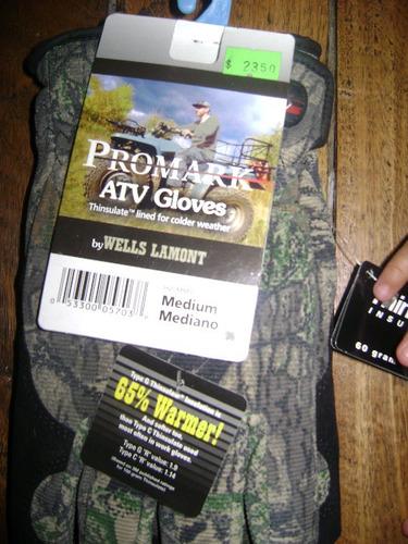 guantes para cazador gamo
