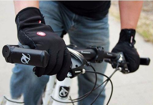 guantes para ciclismo/bicicleta/moto-unisex windstopper