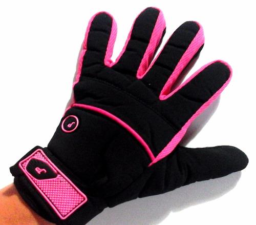 guantes para dama motociclismo promocion