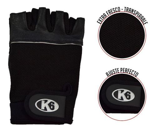 guantes para gimnasio de cuero ideal para pesas crossfit gym