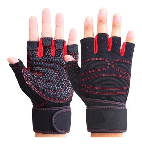 guantes para gym deportivo pesas ciclismo sport calidad 100%