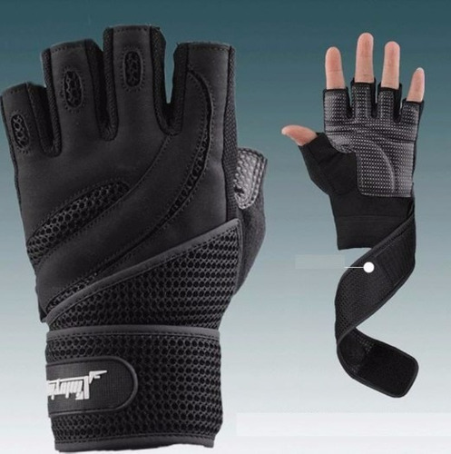 guantes para gym, fitness con protección de muñeca