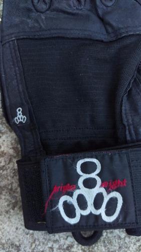 guantes para longboard  -triple 8