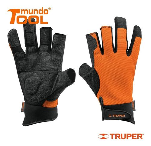 guantes para mecánico alta sensibilidad truper 10847