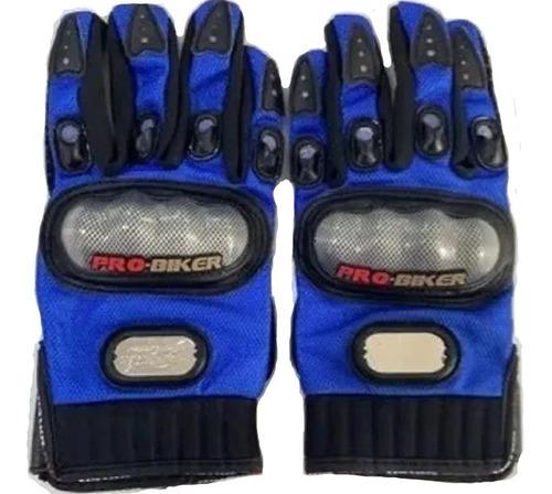 guantes para moto con protección de nudillos